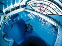 Entrainement en piscine avec AS SFR Plongee