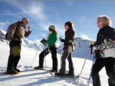 Alpe d Huez France Raquettes