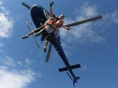 Sky-Delivery parachutisme Vol en Hélicoptère