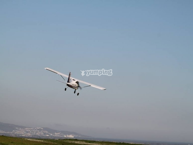 Vol de démonstration
