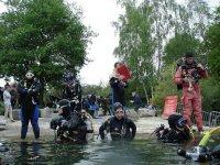 Des plongeurs passionnes