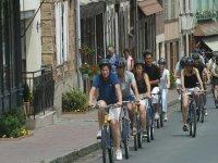 Traversée d'un village typique avec le Normandie Challenge Adventure