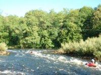 Descente de riviere en hydrospeed