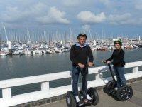 Segway sur Le Port du Havre