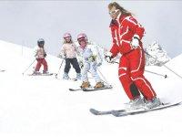 Ski enfants dans les meilleures conditions