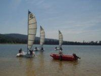 Cours particulier catamaran sur le lac