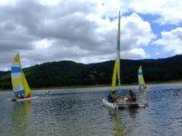 Naviguer sur le lac de St Ferreol