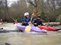 Descente de la Louge en Kayak