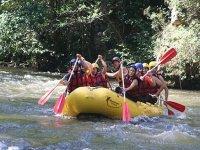 Rafting dans les Gorges de St Georges