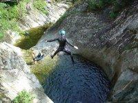 Faites du Canyoning dans les pyrenees orientales