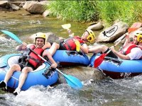 Tubbing sur la riviere