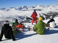 Cours particuliers de snowboard en famille