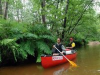 Canoe sur la Petite Amazone