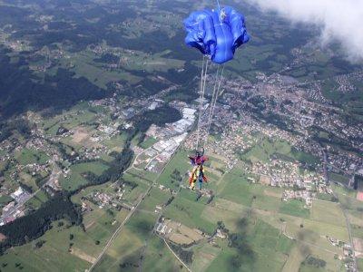 Saut en parachute Cote d'Or