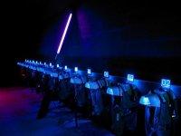 Gilets et pistolets laser