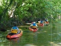 Canoe en famille sur la Nive