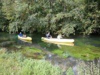 Descente en canoe kayak