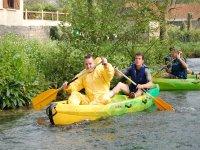 Aventure en canoe sur la Scie
