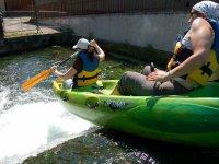 Canoe en Seine Maritime