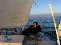 Coaching d'un futur skipper