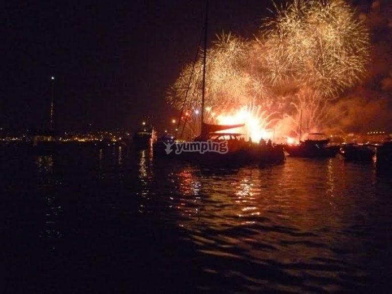 les feux d artifice Cannes