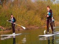 Paddle surf sur la Marne