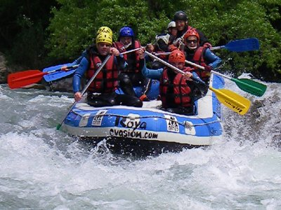 Roya Evasion Rafting