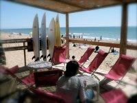 Relax avant l activite surf