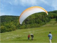decollage parapente