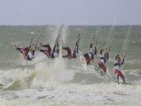 Emotion Forte en Kite avec Le Menhir