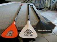Pagaies pour vous diriger dans votre activite Paddle Surf avec Force 7
