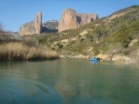 paysage rafting rio gallego