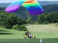 En route pour l aventure aerienne en paramoteur