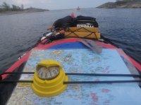 raid en kayak de mer