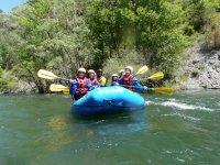 randonnée découverte en rafting
