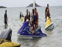 Randonnee Jet Ski en Bretagne avec Rand Eau Jet