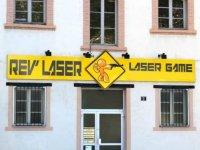 Les locaux de Rev laser