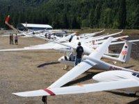 Vol de groupe en planeurs