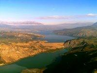 Le lac Serre Poncon