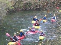 Sortie avec le club de canoe kayak