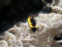 Canoe raft Gorges de st Georges