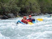 Canoe raft sur l Aude