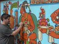 Le dessinateur dans la zone Mexicaine