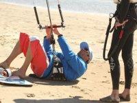 Premiers cours de kitesurf dans le 30