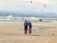 Stage de kitesurf en Camargue
