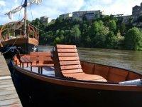bateau sans permis sur le Lot