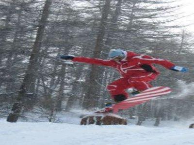 ESF Risoul 1850 Snowboard
