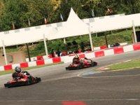 Tour de piste karting