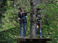 Parcours acrobatique en hauteur Foix