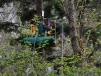parcours aventure en Ariege